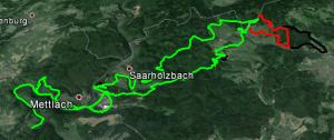 Kaart Dreisbach dag 2